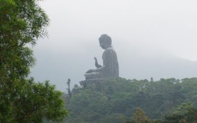 Big Buddha in Lantau Island, Hong Kong